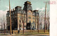 Orphan Asylum, Elizabeth, New Jersey, N.J., Early Postcard, Unused