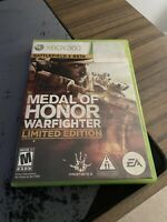 Medal of Honor: Warfighter Limited Edition With Case (Microsoft Xbox 360, 2012)