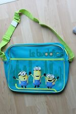 Genuine Branded Minions Le Buddies Turqoise School Shoulder Messenger Bag 350mm