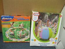 Banzai Ocean Friends Sprinkler Ring Little Tyke Ultimate Beach Ball Sprinkler