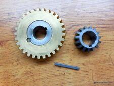 Hobart Mixer A-120 - A-200 60H Worm Wheel & Bushing Assy, 15 Tooth Gear W/ Key