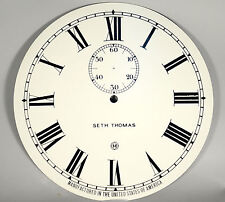 Seth Thomas No. 2 Regulator Clock Dial, Roman, New Style