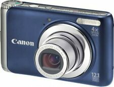 CANON POWERSHOT A3100 IS BLUE 12.1MP 4X OPTICAL ZOOM DIGITAL CAMERA VIDEO PHOTO