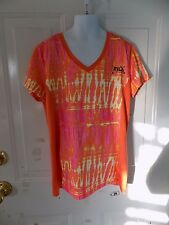 FILA Performance V-Neck Sport Shirt Size XL (16) Girl's EUC FREE USA SHIPPING