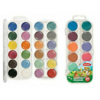 Watercolor Paint Set of 24 colors for Kids Made in Russia Creativiki