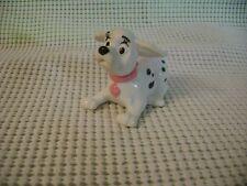 2000 McDonald's toy Disney 102 Dalmatians dog puppy sits pink collar flying ears