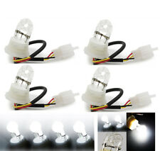4 Pcs 12V 20W Car HID Hide-A-Way Flash Strobe Tube Spare Replacement Bulbs White