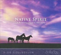Native Spirit: A Relaxing Flute Collection, Ashtar Ron Allen, Daniel May, , Good