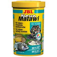 JBL NOVO MALAWI - 5,5 litre - Cichlid Aliment en flocons Cichlidae Loup de mer