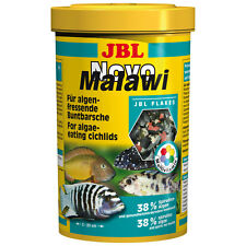 JBL NOVO MALAWI - 5,5 litre - Malavi Aliment en flocons Cichlidae Loup de mer