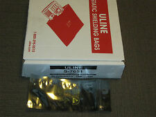 """Uline 2 x 6"""" Reclosable Static Shielding Bags (Lot of 100)"""