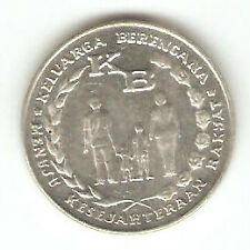 Offer>old Indonesia  5 rupiah Coin 1974 KB  very nice!