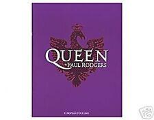 QUEEN + PAUL RODGERS purple 2005 tour programme 36 pages