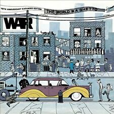 The World Is a Ghetto [40th Anniversary Expanded Edition] by War (CD,...
