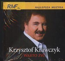 = KRZYSZTOF KRAWCZYK - WARTO ZYC / CD sealed  digibook