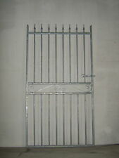 Strong tall garden side gate  6ft tall 3ft 6ins wide opening  ! galvanized ! L/h