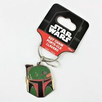 Disney Star Wars Boba Fett Mandalorian Enamel Keychain A New Hope FREE SHIPPING