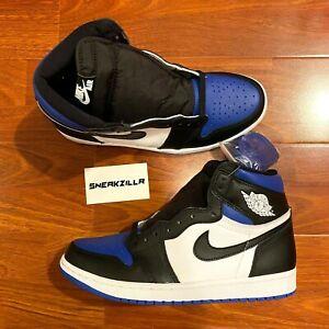 Nike Air Jordan Retro 1 HIGH OG Royal Toe 2020 Game Blue 555088-041 Men&GS 4y-13