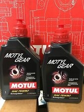 MOTUL MOTYLGEAR 75W-90 LUBE 2 PACK 1L high temperature and longer life time