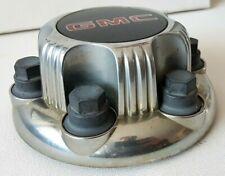 1999-2012 GMC 6-lug Truck Van Steel Wheel Center Hub Cap SILVER