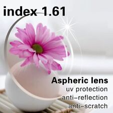 1.61 Aspheric Prescription Myopia/Hyperopia/Presbyopia Lens + modify + extra fee