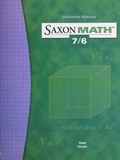 Saxon Math 7/6 Solutions Manual 76
