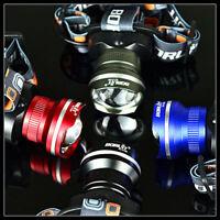 BORUiT 12000LM XM-L T6 LED Hunting Biking Camping AA ZOOMABLE Headlamp Headlight