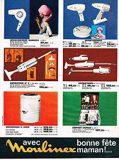 PUBLICITE ADVERTISING   104  1965  MOULINEX   des cadeaux pour maman