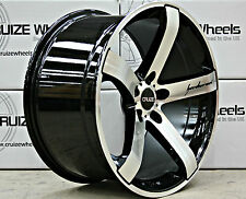 "20"" CRUIZE BLADE CONCAVE WEIGHT COMMERCIALLY RATED 5 SPOKE 20 INCH ALLOYS"