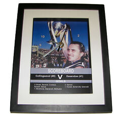 Collingwood 1990 Grand Final. High quality framed print and clock