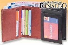 Herren-Geldbörsen & -Etuis mit Kreditkartenfach im Ausweisetui aus Leder