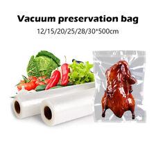 Embossed Food Saver Storage Bags Vacuum Sealer Bags Kitchen Packaging Rolls DAB