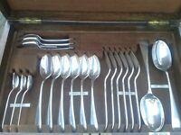 Complete Antique Walker Hall Canteen Cutlery Set VGC