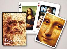 Leonardo Da Vinci Conjunto De 52 Jugar Tarjetas + Bromistas ( Gib )
