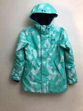Under Armour Winter Ski Snowboard Youth Girls Jacket Insulated YMed Coat Storm