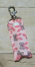 Ballet Chap Stick holder clip to purse /keychain FREE shipping great gift