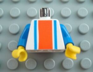 LEGO Vertical Striped Town Minifig Torso Body Part