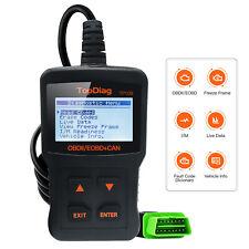 New Automotive Code Reader OBD2 Scanner Car Diagnostic Service Tools JDiag TP109