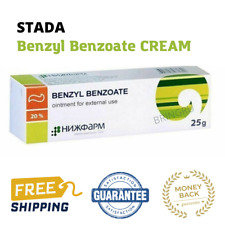 Benzyl Benzoate cream 20% Antiparasitic, Scabies Lice Treatment, 25 gr STADA