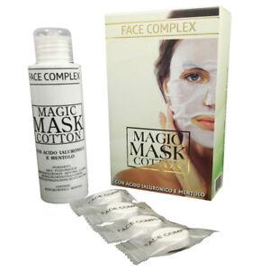 MASCHERA VISO MAGIC MASK COTTON FACE COMPLEX CON ACIDO IALURONICO E MENTOLO