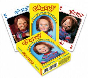 Chucky Conjunto De 52 Jugar Tarjetas Bromistas) (NM)