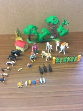 Playmobil farm bundle with figures, accessories and animals Birds Dogs Cats BB3A