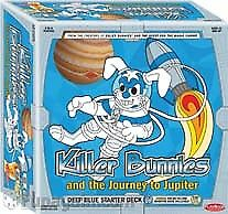 Killer Bunnies and the Journey to Jupiter Card Game Playroom Entertainment NEW
