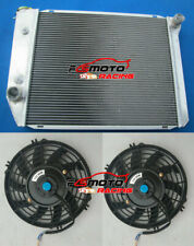Alloy Radiator&Fans for FORD FALCON XA/XB/XC/XD/XE FAIRMONT CLEVELAND 302/351 V8