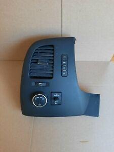 2007-2013 Silverado Sierra LH Left Interior Dash Headlight Switch Bezel Trim OEM
