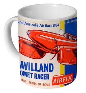 Airfix De Havilland D.H.88 Comet Racer Advert - Coffee Mug / Tea Cup
