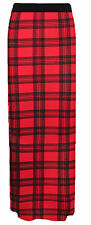 Women Ladies Jersey Maxi Skirt Long Gypsy Skirt Bodycon Summer Dress Size 8-26