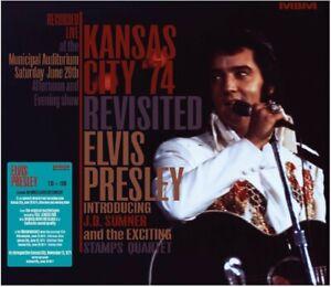 Elvis Presley CD KANSAS CITY 74 REVISITED  2 CD & 1 DVD Pre-Order