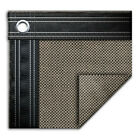 18' x 40' Rectangle In-Ground Swimming Pool Mesh Winter Cover 15 Year - Taupe