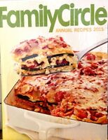 Family Circle Annual Recipes 2015 by Family Circle new hardcover cookbook